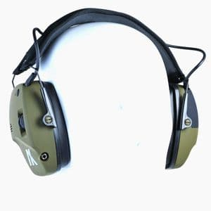 Sport Ear TRACKR Blue Tooth Electronic Ear Muffs Defenders Active Sound Green