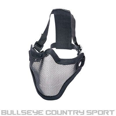 STRIKE SYSTEMS AIRSOFT LOWER HALF MESH MASK DOUBLE STRAP