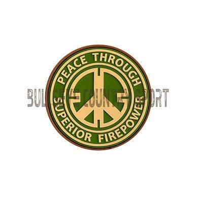 Superior Fire Power Patch Multicam