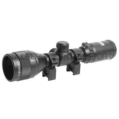 Swiss Arms 3-9 X 40 Waterproof Compact Scope Black