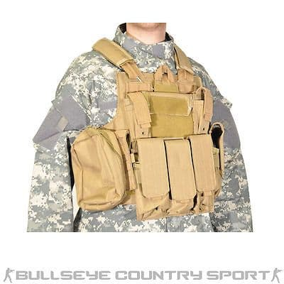 Swiss Arms CIRAS Tactical Vest Modular Coyote