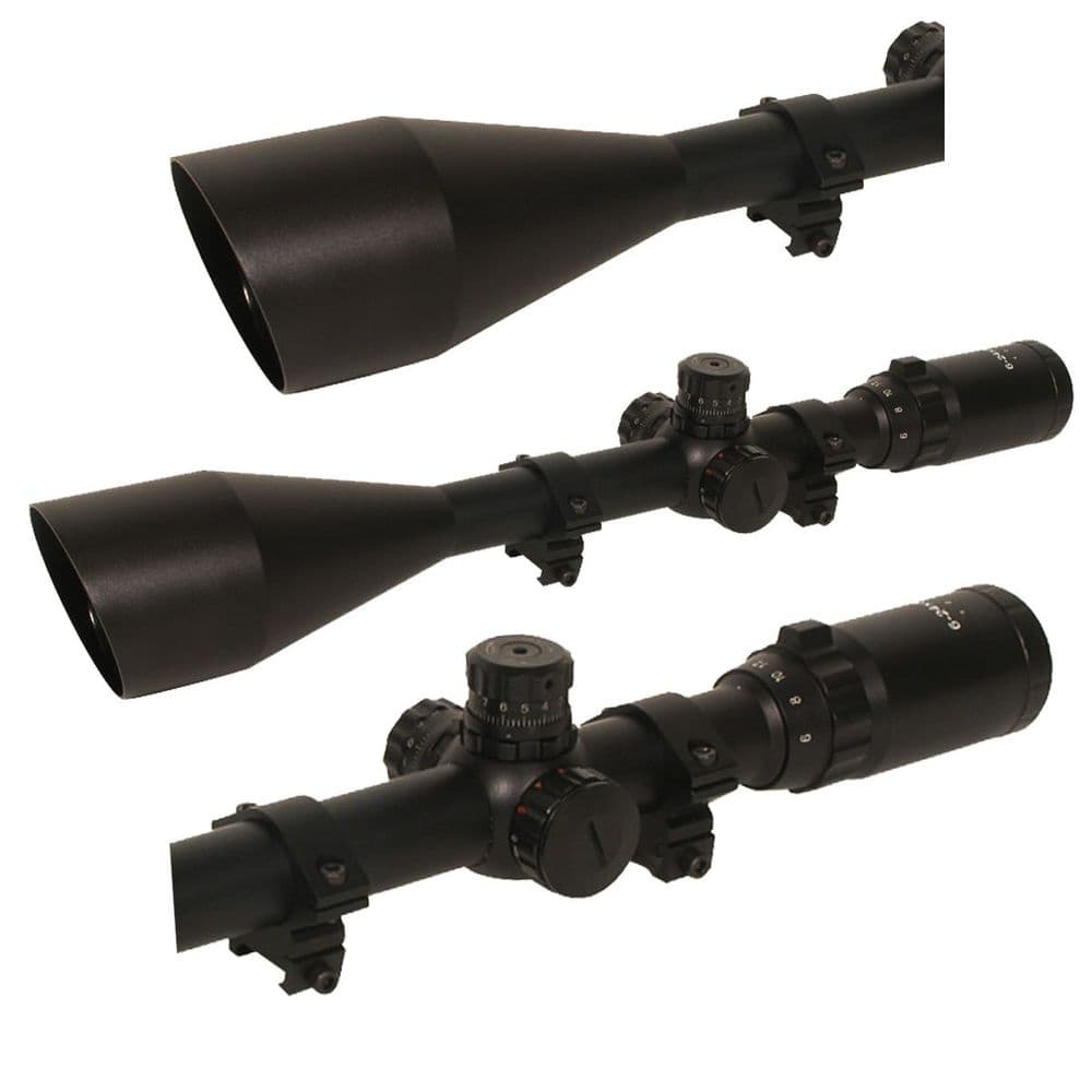 Swiss Arms Long Range Tactical Rifle Scope 6-24 x 50 Magnification Faulty