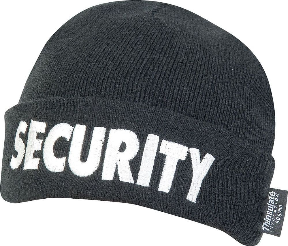 Viper Security Bob Hat Black Thinsulate Lined Beanie