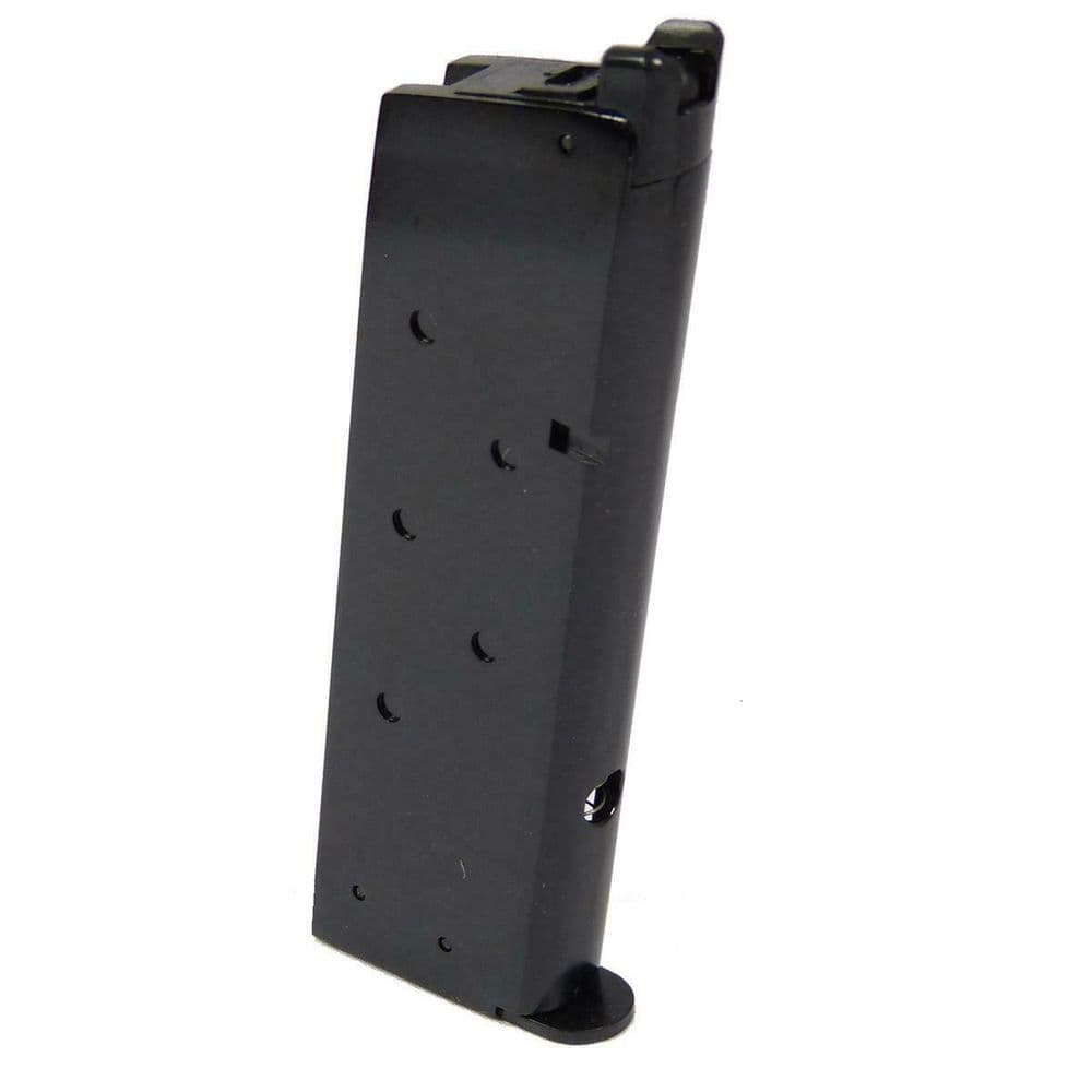 WE M1911 Single Stack Gas Magazine 15rd 6MM