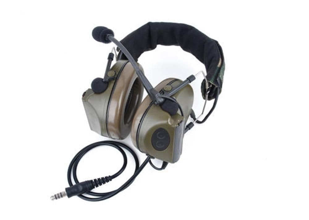 Z Tactical New Version Comtac II Headset Z044 2 way Radio Sound Control Airsoft