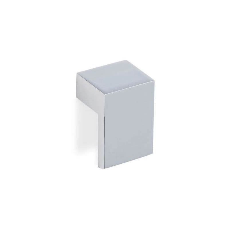 MOTIF ANGLED Pull Cupboard Handle - 32mm h/c size - 2 finishes (ECF FF78132)