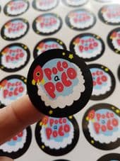 37mm Paper Stickers - Your Custom Image Printed - 50% EXTRA FREE!! 15 Sheets For the price of 10