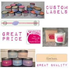 Candle Tin Labels - Top Up Pack
