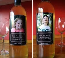 Custom Wine Bottle Sicker Label Teacher Gift Family Gift Novelty Gift Idea