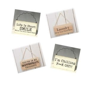 Decals for Plaques - Adult Humour