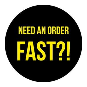 Fast Turnaround Option For Your Order (Letter Sized/Small Orders)