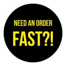 Fast Turnaround Option For Your Order (Parcel/Tube Sized/Larger Orders)