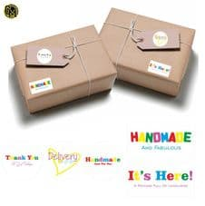 Handmade/Thank You Sticker Collection Crafter DIY Paper Packaging Envelope FAB