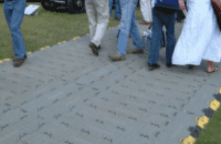 Pastic Grid Flooring (suits 6 x 10 tent or apprach walkway)