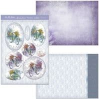 HUNKYDORY A4 Card Set Lifes Journey 300/350gsm 3 Card Pack