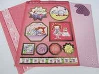 HUNKYDORY A4 Card Set Polly's Perfect Finish 300/350gsm 3 Card Pack