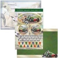 HUNKYDORY A4 Card Set Race Day 300/350gsm 3 Card Pack