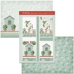 HUNKYDORY A4 Card Set To Grow A friend 300/350gsm  3 Card Pack