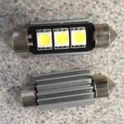 Bulbs - Reg plate LED