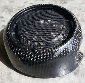 Speaker Grilles in Carbon Fibre 3rd gen MINI