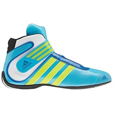ADIDAS  XLT BOOTS CYAN/FLUO YELLOW/WHITE