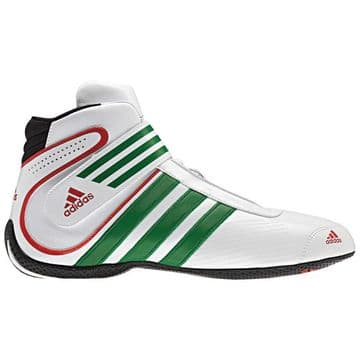 ADIDAS  XLT BOOTS WHITE/GREEN/RED