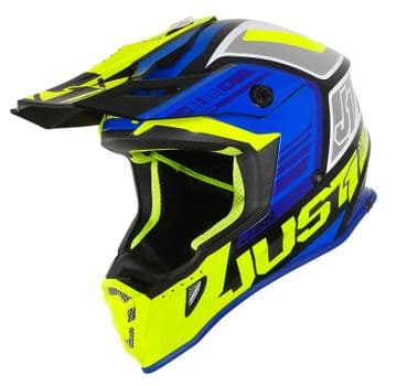 JUST 1 BLADE  BLUE/FLUO YELLOW/BLACK