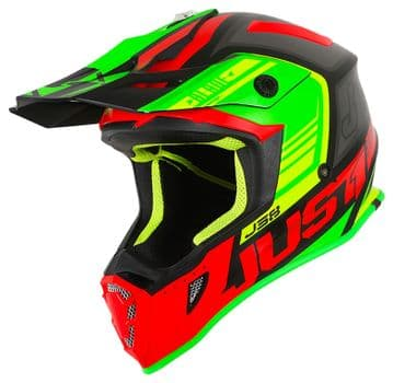 JUST 1 BLADE RED/LIME/BLACK