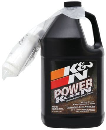 K&N 1 GALLON CLEANER - courier postage only