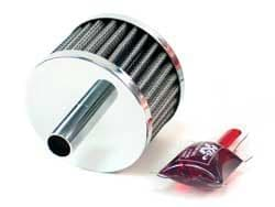 K&N Male Breather Filters