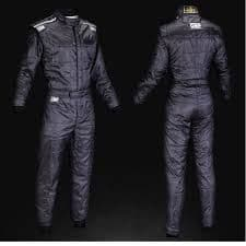 OMP KS4 KART SUIT BLACK