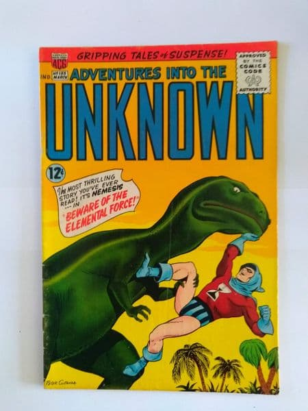 ADVENTURES IN TO THE UNKNOWN NO 155 MARCH 1965