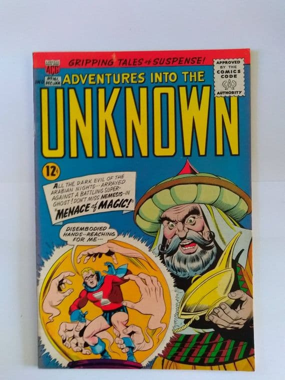 ADVENTURES IN TO THE UNKNOWN NO 161 DECEMBER/JANUARY 1965