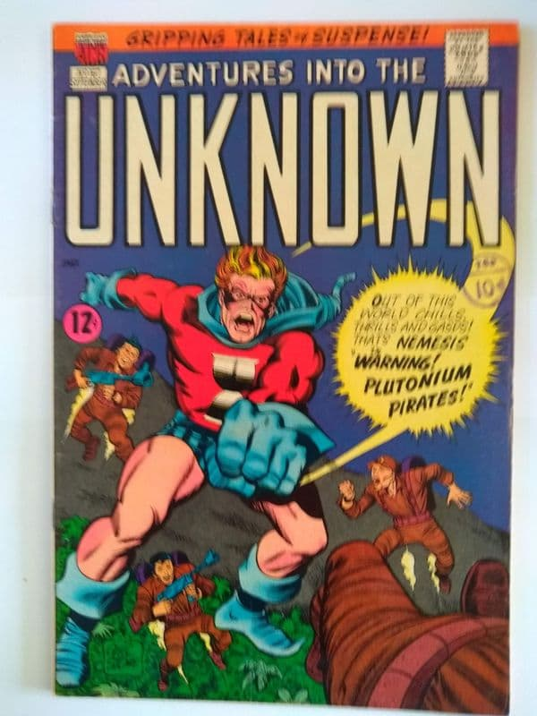 ADVENTURES IN TO THE UNKNOWN NO 167 SEPTEMBER 1966