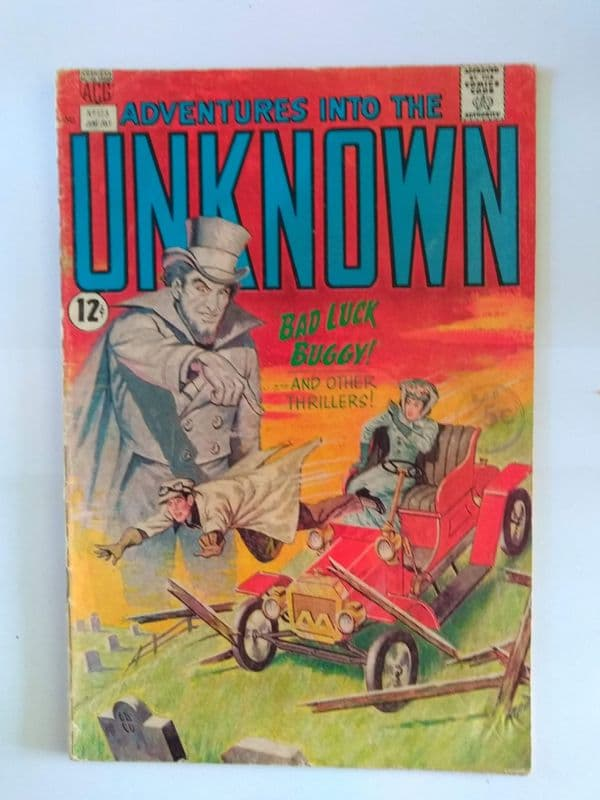 ADVENTURES IN TO THE UNKNOWN NO 173 JUNE/JULY 1967