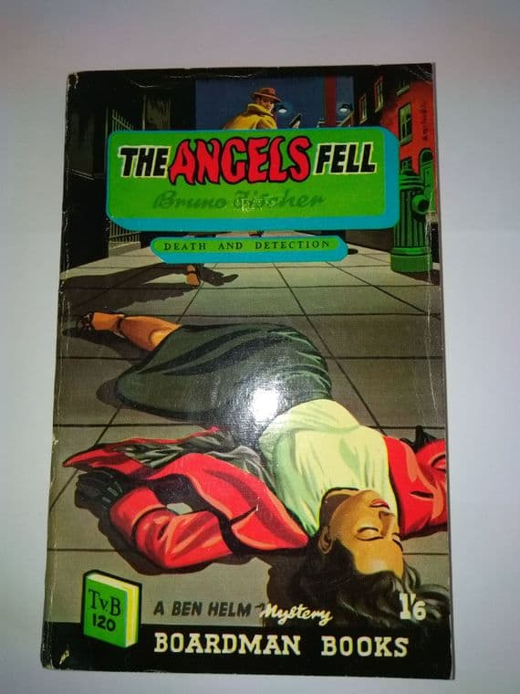 Boardman books. The Angels Fell. (paperback) by Bruno Fischer.