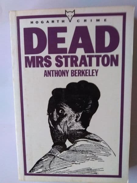 Dead Mrs Stratton (paperback) by Anthony Berkeley