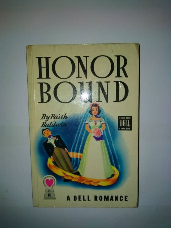 DELL MAPBACK: Honor bound (paperback) by Faith Baldwin
