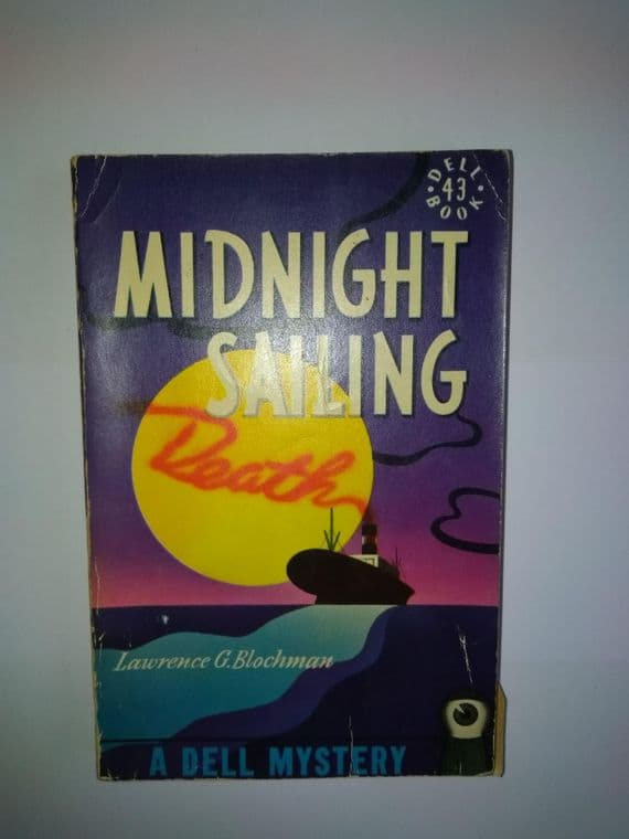 DELL MAPBACK: Midnight Sailing.[Paperback]  by Lawrence G Blochman.