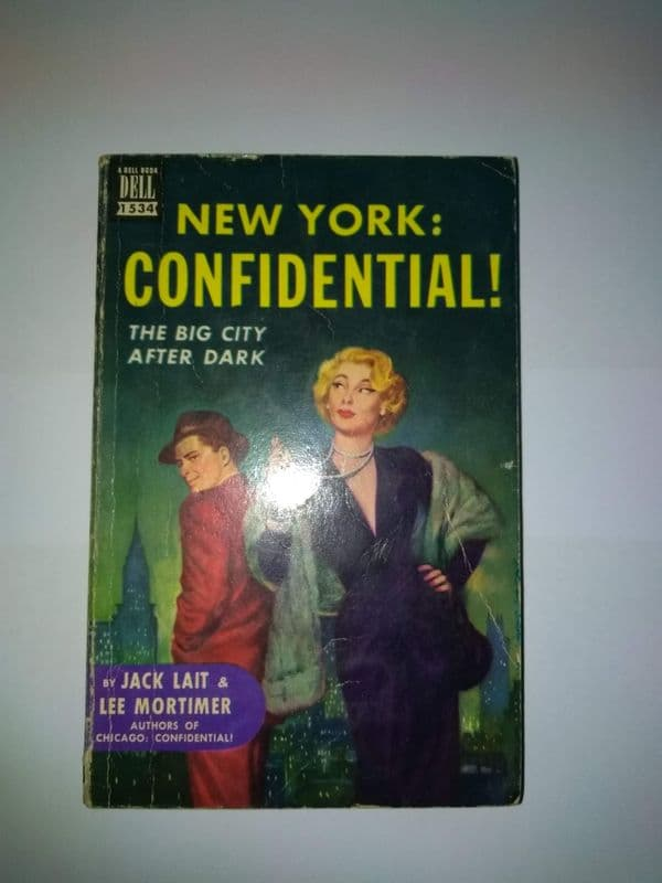 DELL MAPBACK: New York: Confidential  [Paperback] by Jack Lait and Lee Mortimer