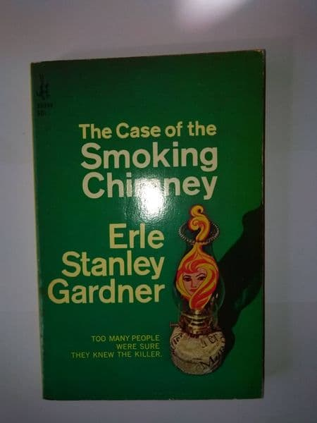 POCKET BOOK: The case of the smoking chimney (paperback) by Erle Stanley Gardner.
