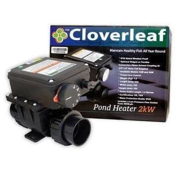 Cloverleaf in-line Pond Heaters
