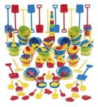 100 Piece sand-water Set