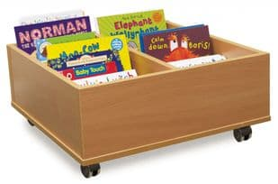 4 or 6 Bay Kinderbox (with castors)