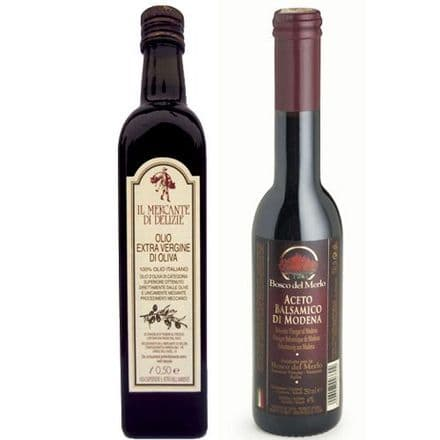Extra Virgin Olive Oil & Balsamic Vinegar Modena Set