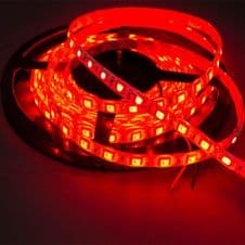 Led Strip 5050 60 SMD Waterproof Red (5m min)