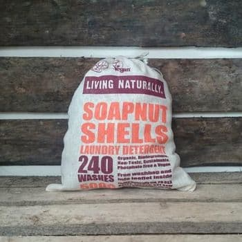 Organic soapnuts 500g with storage bag- 240 washes