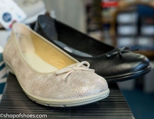 Alpina Dixie, practical and super comfortable leather ballet pump