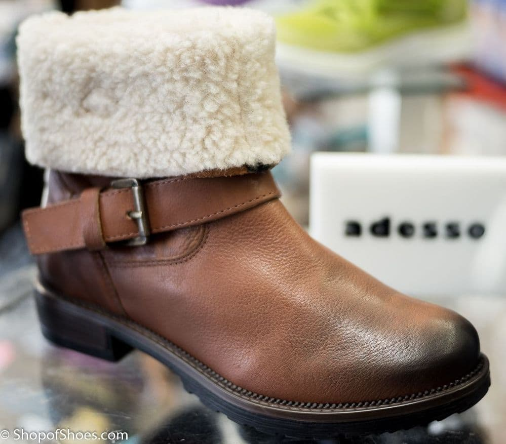 antique brown rugged warm 2 in 1 winter boot
