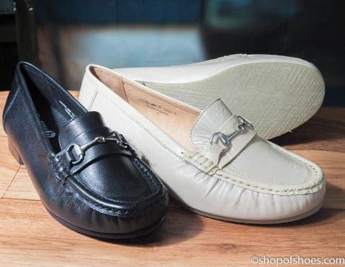 DIANA  smart loafer EE - 4E wide fit